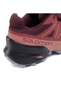 Czerwone buty sportowe salomon Salomon Speedcross