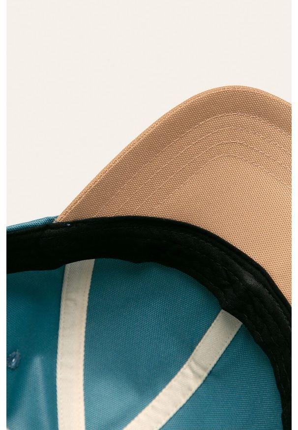 Turkusowa czapka z daszkiem Levi's® w kolorowe wzory, biznesowa
