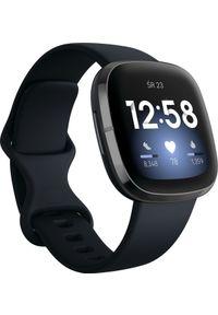 FITBIT - Smartwatch Fitbit Sense Czarny (4061856798660). Rodzaj zegarka: smartwatch. Kolor: czarny