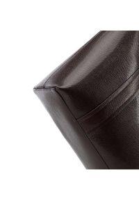 Wittchen - Shopperka ze skóry lizard z długimi uchwytami. Kolor: brązowy. Wzór: kolorowy, haft, aplikacja, gładki. Dodatki: z haftem. Materiał: skórzane. Styl: biznesowy, elegancki. Rodzaj torebki: do ręki