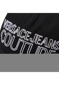 Versace Jeans Couture - Czapka z daszkiem VERSACE JEANS COUTURE - E8YWAK11 85075 MI9. Kolor: czarny. Materiał: materiał, bawełna