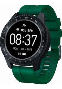 Zielony zegarek Garett Electronics sportowy, smartwatch