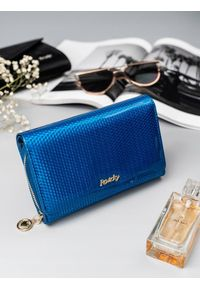 Niebieski portfel ROVICKY