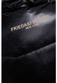 Frieda & Freddies - Bezrękawnik. Kolor: czarny. Materiał: materiał. Długość rękawa: bez rękawów
