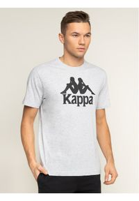 Szary t-shirt Kappa