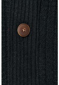 Niebieski sweter rozpinany Tom Tailor casualowy, na co dzień