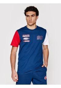 Prosto. - PROSTO. T-Shirt KLASYK Xenon 1031 Granatowy Regular Fit. Kolor: niebieski