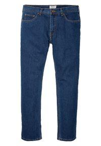 Dżinsy Regular Fit Straight bonprix ciemnoniebieski denim. Kolor: niebieski