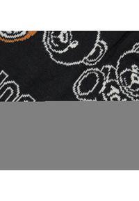 Czapka MOSCHINO - 65242 0M2555 016. Kolor: czarny. Materiał: wełna, akryl, materiał