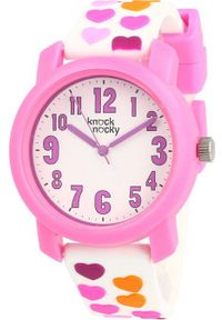 Różowy zegarek Knock Nocky