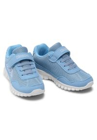 Kappa - Sneakersy KAPPA - Follow K 260604K L'Blue/White. Okazja: na co dzień. Zapięcie: rzepy. Kolor: niebieski. Materiał: materiał. Szerokość cholewki: normalna. Styl: casual