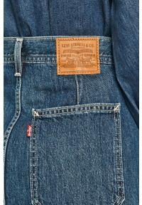 Niebieska spódnica Levi's® na spotkanie biznesowe, casualowa
