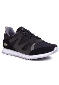 Czarne sneakersy Lacoste