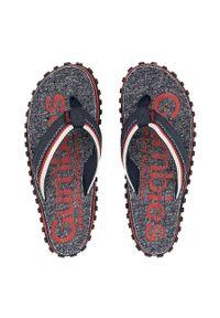 Gumbies - Japonki CAIRNS FLIP-FLOP. Kolor: czerwony. Materiał: bawełna, guma