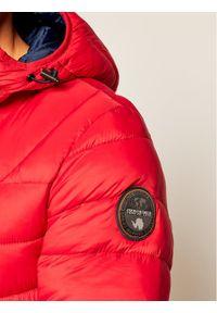 Czerwona kurtka puchowa Napapijri