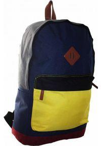 Adleys BP252 MULTI Plecak Unisex szkolny turystyczny miejski A4