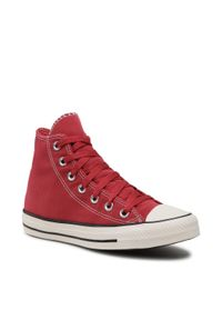 Converse - Trampki CONVERSE - Ctas Hi 170926C Claret Red/Black/E. Kolor: czerwony. Materiał: materiał