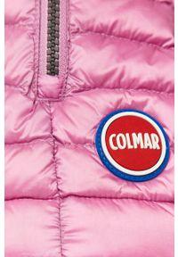 Różowa kamizelka Colmar na co dzień, bez kaptura, casualowa
