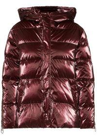 Fioletowa kurtka zimowa Pinko