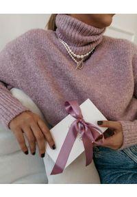 SELFIE JEWELLERY - Naszyjnik z pereł New Chance. Materiał: pozłacane. Kolor: biały. Kamień szlachetny: perła