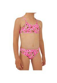 OLAIAN - Kostium Kąpielowy Dwuczęściowy Boni 100 Sakura Dla Dzieci. Materiał: poliester, materiał, elastan