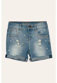 Niebieskie spodenki Guess Jeans casualowe, na co dzień