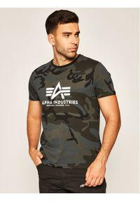 Alpha Industries T-Shirt Basic 100501C Szary Regular Fit. Kolor: szary