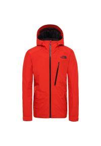 Czerwona kurtka narciarska The North Face