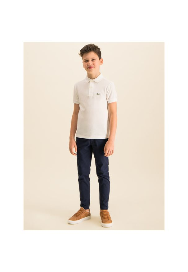 Biały t-shirt polo Lacoste polo