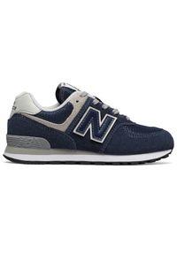 Niebieskie buty sportowe New Balance trekkingowe