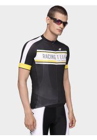 Koszulka rowerowa 4f rowerowa, ze stójką, raglanowy rękaw