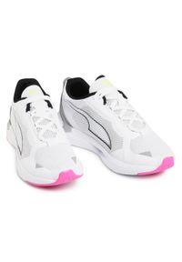 Białe buty do biegania Puma z cholewką
