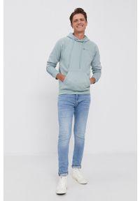 G-Star RAW - G-Star Raw - Bluza. Okazja: na co dzień. Kolor: niebieski. Styl: casual