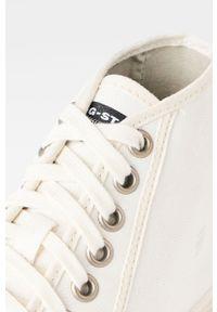 G-Star RAW - G-Star Raw - Trampki. Nosek buta: okrągły. Zapięcie: sznurówki. Kolor: biały. Materiał: guma