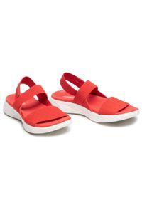 Czerwone sandały skechers