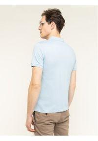 Baldessarini Polo Pablo Nos 47405/000/5361 Niebieski Slim Fit. Typ kołnierza: polo. Kolor: niebieski