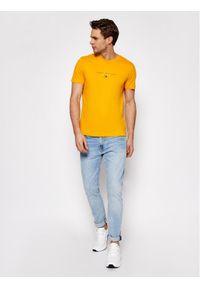 Żółty t-shirt TOMMY HILFIGER #5