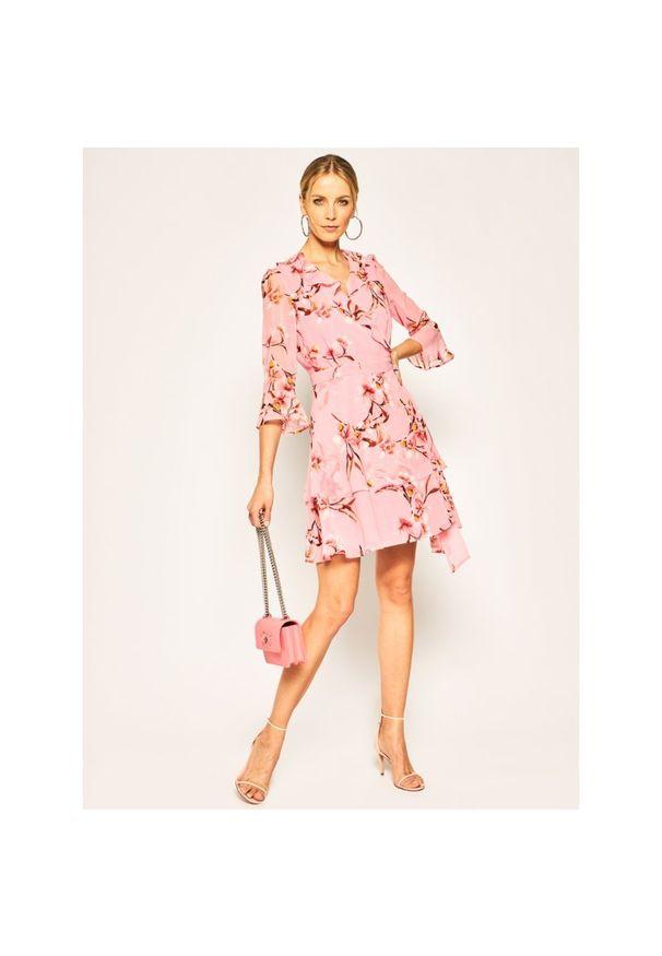 Różowa sukienka Marella na lato