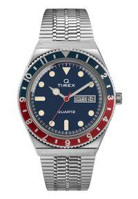 Timex - Zegarek TW2T80700. Kolor: srebrny. Materiał: materiał
