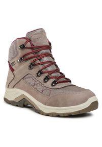 Szare buty trekkingowe Sprandi trekkingowe