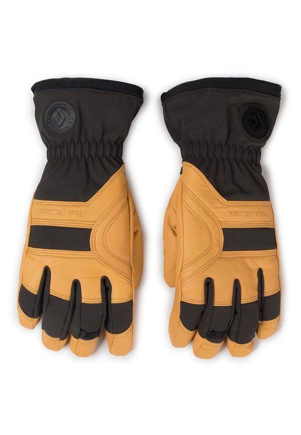 Żółta rękawiczka sportowa Black Diamond narciarska