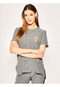 DKNY T-Shirt YI2422401 Szary Regular Fit. Kolor: szary