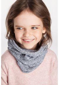 Wiosenny komin dziewczęcy PaMaMi - Fioletowy. Kolor: fioletowy. Materiał: bawełna, elastan. Sezon: wiosna