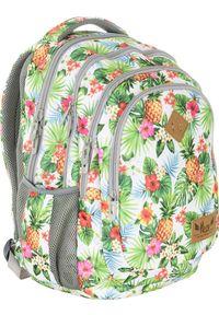 ALWAYS WILD - Plecak szkolny zielony Always Wild HS-07 HASH. Kolor: zielony. Materiał: skóra ekologiczna. Wzór: nadruk, aplikacja. Styl: sportowy
