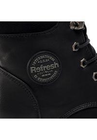 Czarne buty trekkingowe Refresh