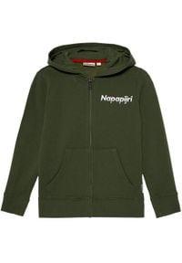 Napapijri Bluza K Baloy Fzh NP0A4EQ5 S Zielony Regular Fit. Kolor: zielony