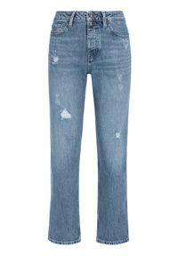 TOMMY HILFIGER - Tommy Hilfiger Jeansy Classic Straight WW0WW26472 Niebieski Regular Fit. Kolor: niebieski