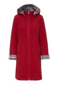 Cellbes Płaszcz z kapturem na zamek czerwony female czerwony 34/36. Typ kołnierza: kaptur. Kolor: czerwony. Styl: klasyczny