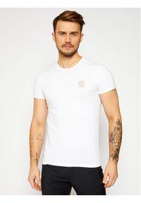 VERSACE - Versace T-Shirt Medusa AUU01005 Biały Regular Fit. Kolor: biały