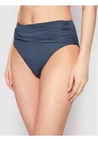 Seafolly Dół od bikini High Waist Wrap Front 40643-065 Szary. Stan: podwyższony. Kolor: szary